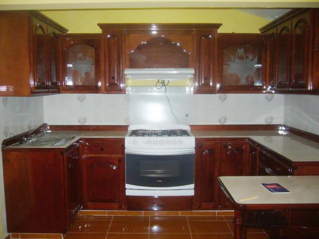 Cocinas integrales for Modelos de cocinas de madera modernas