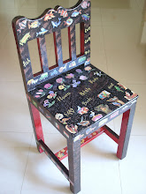 Makeover of a Kid's Chair