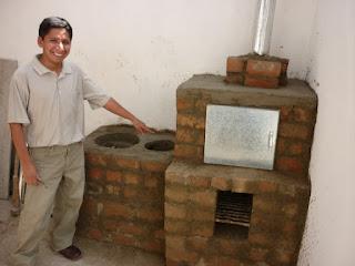Alternativa renovable con tecnolog as l mpias cocinas - Como cocinar en horno de lena ...