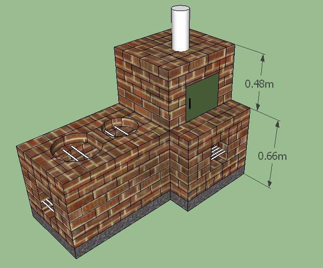 Alternativa renovable con tecnolog as l mpias octubre 2010 for Planos para construir una cocina de lena