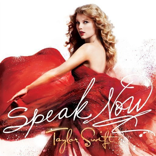 taylor swift cd cover speak now. ~~~ALBUM COVER~~~. Swift is