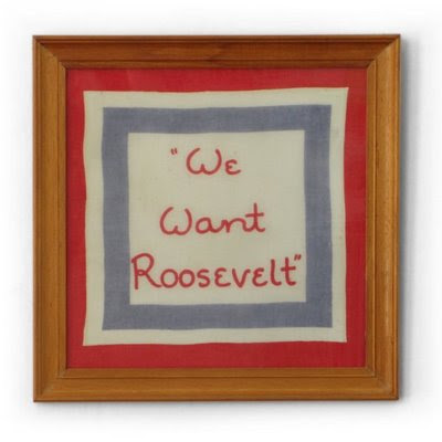 FDR New Deal Election Campaign memorabilia
