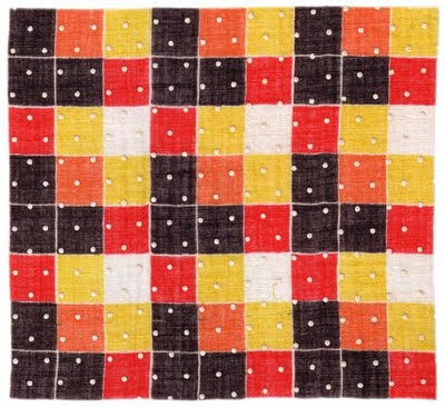 vintage geometric lawn dress textile