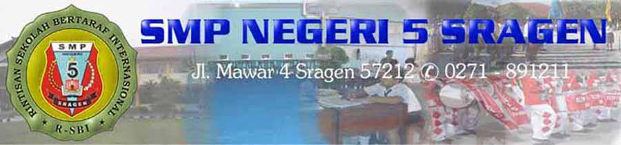 ..:::SMP N 5 SRAGEN:::..