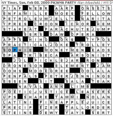 Rex parker does the nyt crossword puzzle sunday feb 8 2009 a word of the day nitery slangy term for a nightclub heres a quotation from a late 40s variety article praising the work of actress jane greer femme m4hsunfo