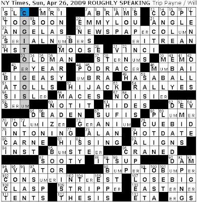 term paper crossword clue