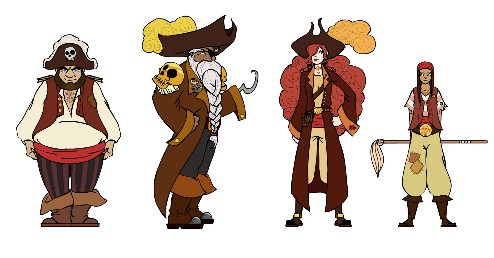 James McVann: Pirate concept art