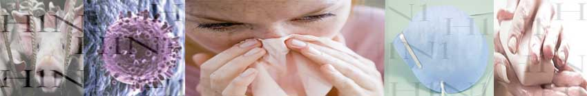 La grippe A - H1N1- symptomes , vaccin, protection,précautions traitement et soins