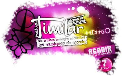 festival timitar 2010 affiche