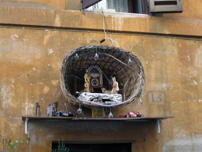 Shrine in a Via
