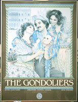 The Gondoliers Poster 1983