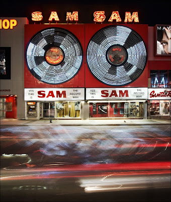Sam the Record Man - night