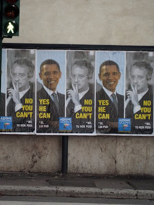 Obama Yes - Veltroni No