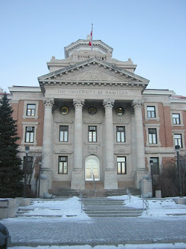 The University of Manitoba's Main Admin Building