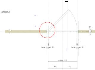 Revit mastering valeur approximative for Dimension d une porte