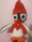 Pinguim de feltro