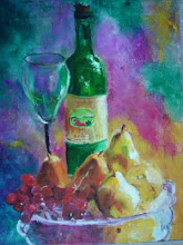 """Wine, Grapes and Pears"""