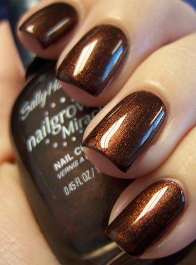 chloe's nails forbidden fudge