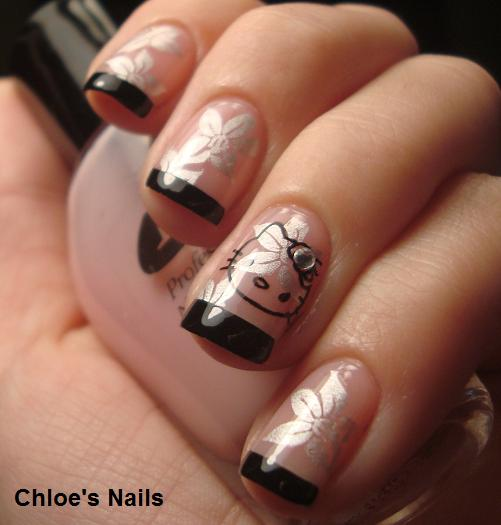Funky French Nail Art Designs