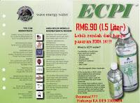Iklan ECPI 1.5L hanya RM6.90.
