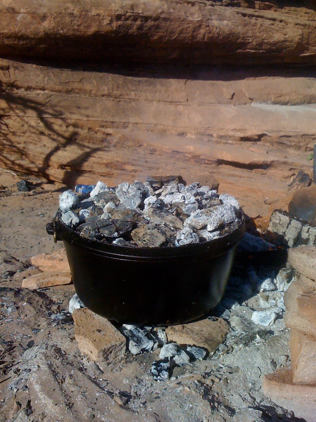 Derek on cast iron cast iron recipes equipment camp for Cast iron dutch oven camping recipes