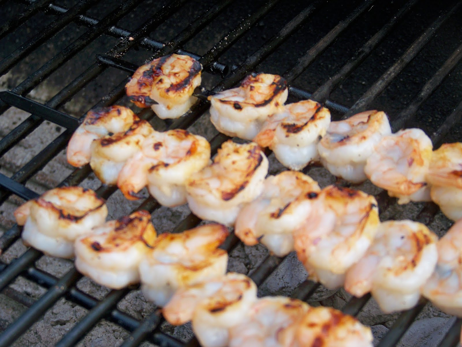 how to prepare shrimp on the barbie