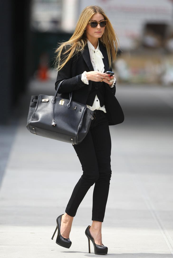 Olivia palermo 39 s birkin real or fake purseforum for Hermes palermo
