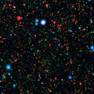 Las galaxias observadas por Spitzer