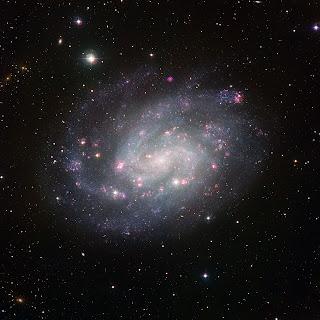 Imagen de la galaxia NGC 300 tomada con el WFI