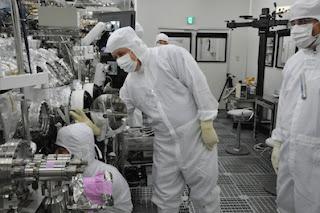 Instalaciones de conservación de la Agencia Japonesa de Exploración Aeroespacial, en Sagamihara, Japón