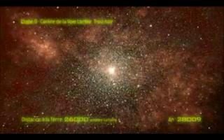 Imagen que muestra la etapa 9, que corresponde al centro de la Vía Láctea
