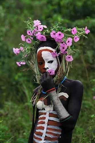 Steven alexander journal ethiopian body painting for African body decoration