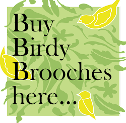 Birdy Brooches for SALE!