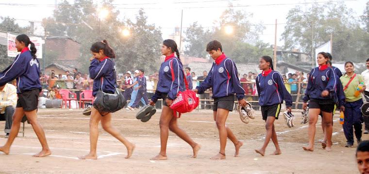 राजधानी में पहली बार जनवरी 2010 में खेली गई 57वीं सीनियर नेशनल कबड्डी चैंपियनशिप।