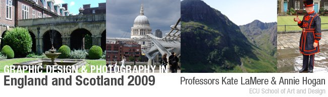 ECU Graphic Design and Photography in the UK