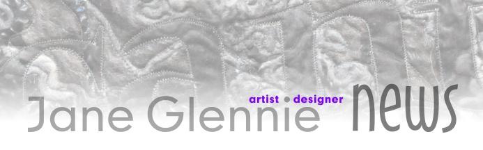 Jane Glennie: artist & designer