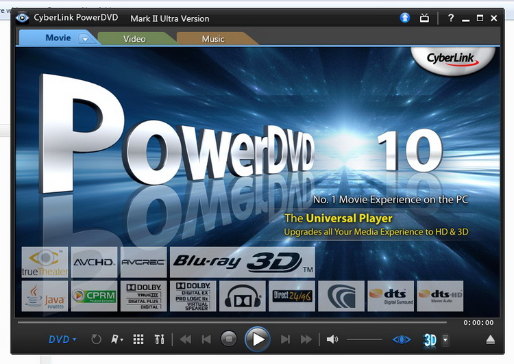 Cyberlink powerdvd 10 mark ii ultra crack