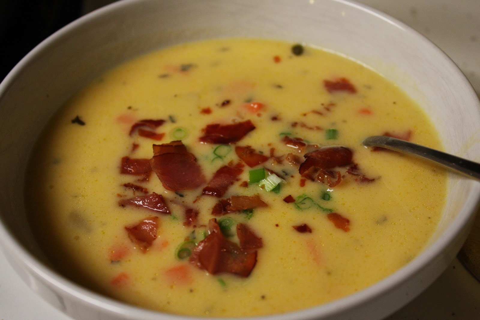 But you can call me crazy...: Cheesy Potato Soup
