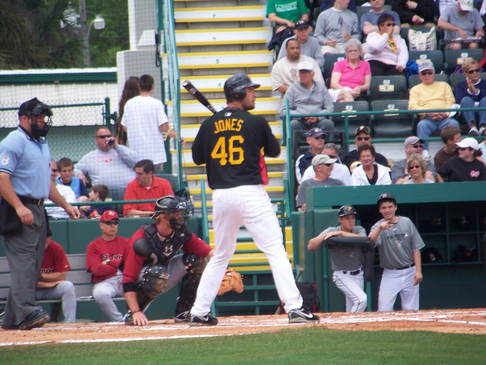 Garrett Jones, pre-home run