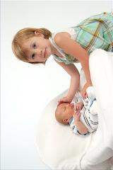 Cora and Wyatt