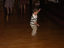 Miles bustin' a move out on the dance floor!