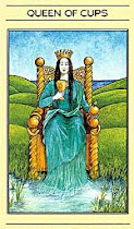 My Tarot Card: Queen of Cups