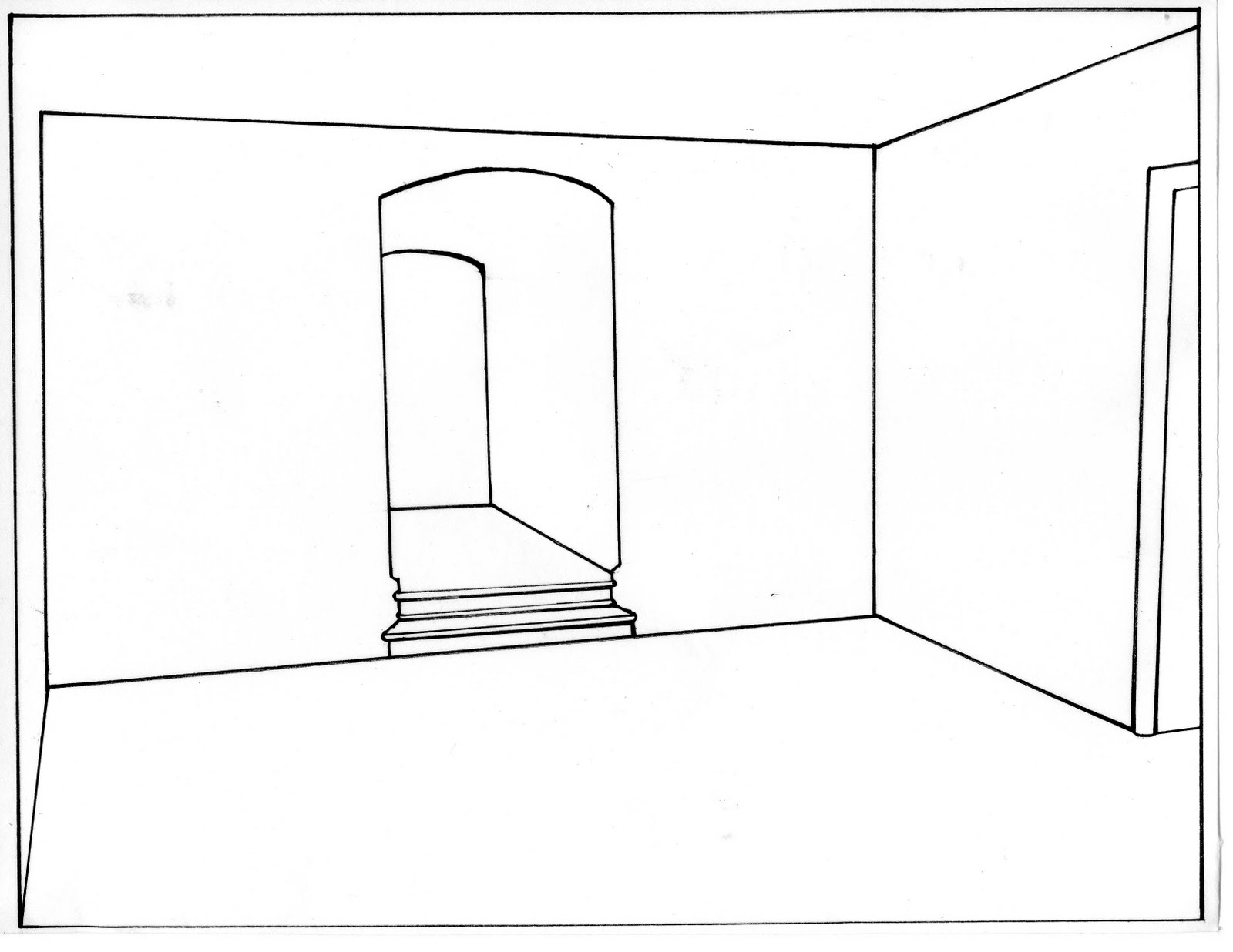 Line Drawing Room : Megan pozielli studio a seminar spring