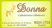 DONNA - Cabelereira e manicure
