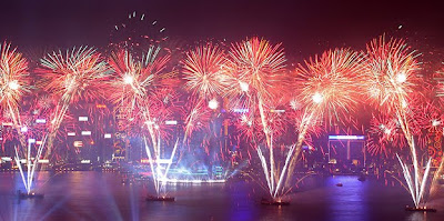 Hong Kong's East Asian Games opening fireworks