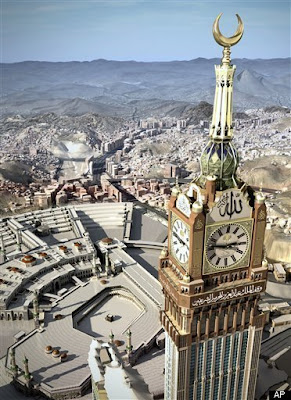 World's Largest Clock - Abraj al-Bait  Clocks