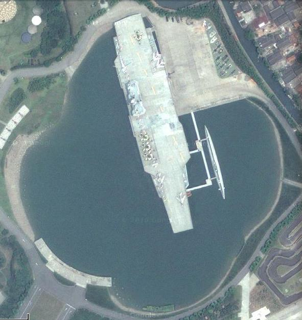 China also has its own famous land locked aircraft carriers,t his is ...