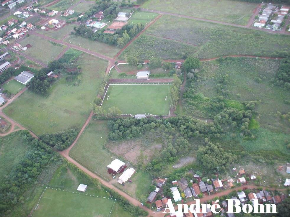 Foto aérea do Estádio Estrelão