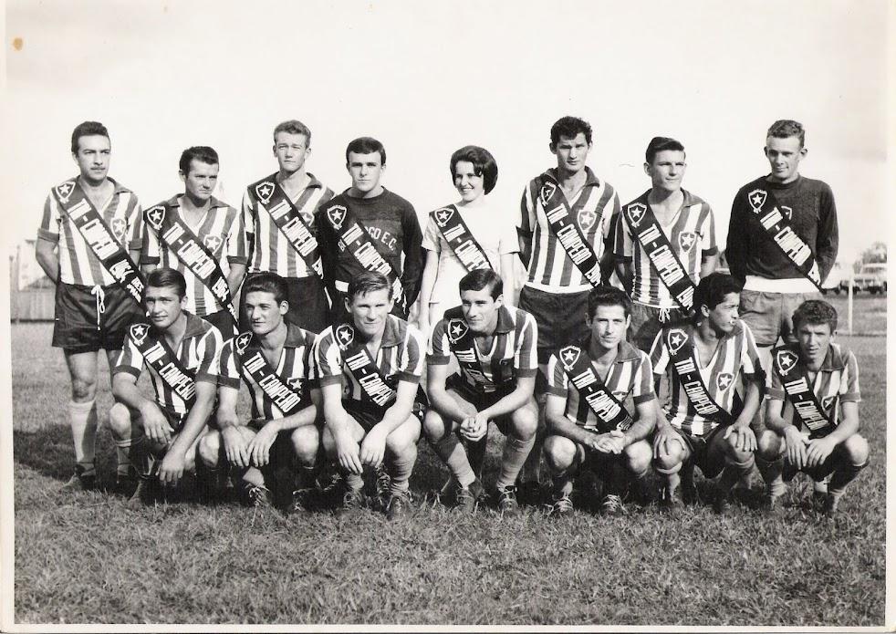 Tri-campeão Municipal - 1964