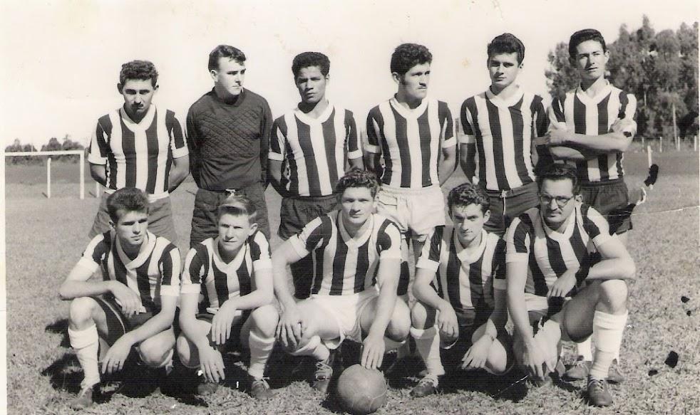 1ª equipe de aspirantes do Botafogo a entrar em campo - 1960